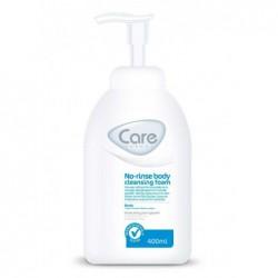 Mousse nettoyante corporelle sans rinçage Care