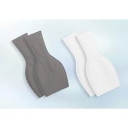 Lot de 2 protections courtes lavables pour homme -  350ml