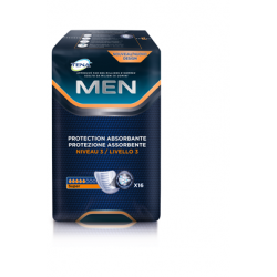 Protection urinaire homme -  TENA Men Niveau 3 - Pack de 6 sachets