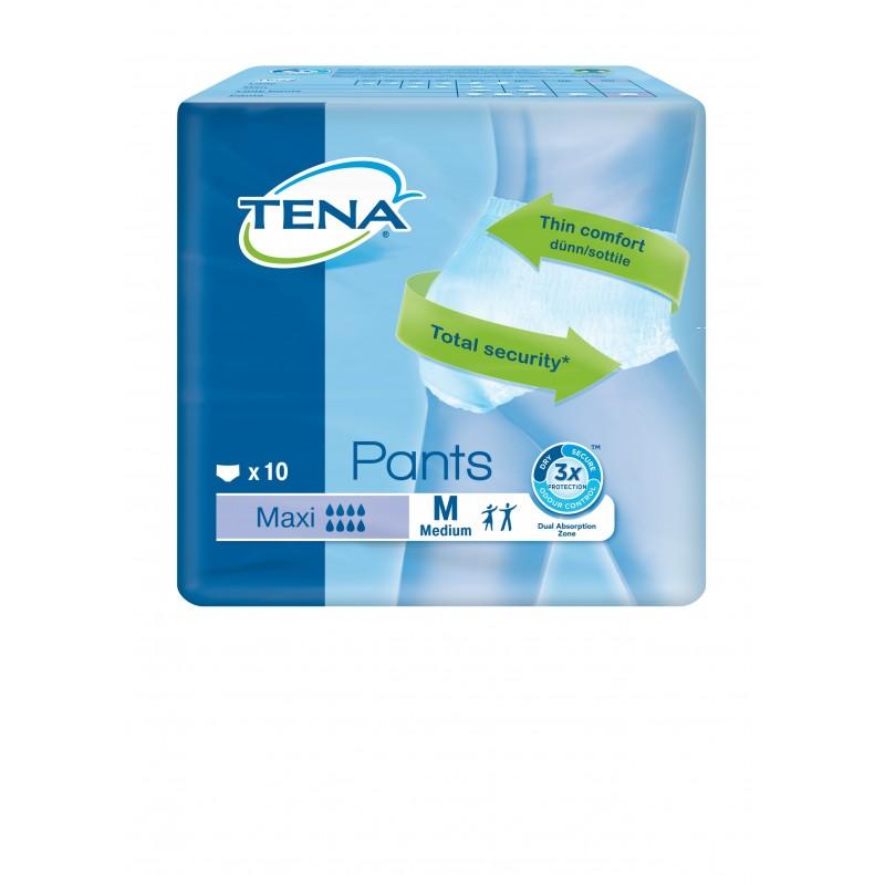 Pack de 4 sachets de TENA Pants M Maxi