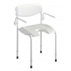 Chaise de douche fixe Invacare Alizé