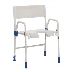 Chaise de douche pliante réglable Invacare Galaxy