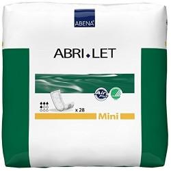 Couches droites - Abena Abri-Let  mini 39 X 14 - insert intraversable