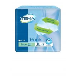 Slip Absorbant / Pants - TENA Pants M Super - Pack de 4 sachets Tena Pants - 1