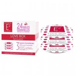 Capsules Aroma Box Love aux 24 huiles essentielles de E2 Essentiel Elements