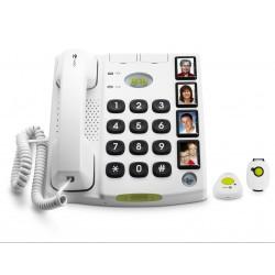 Téléphone Filaire Doro Secure 347, 4 touches mémo photos Doro - 1