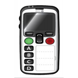 Mobile  DORO Secure 580,Blanc 4 touches memo, Géolocalisation