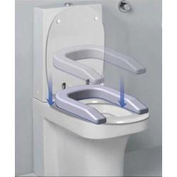Rehausseur multifonction Confort seat , fixation ventouse, H 12 cm