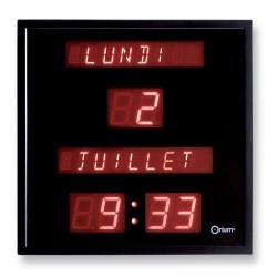 Horloge à date digitale