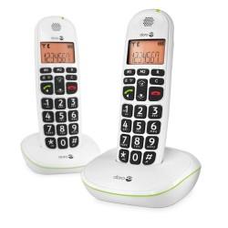 Téléphone Sans fil Duo DORO Phone Easy 100w Noir grand afficheur