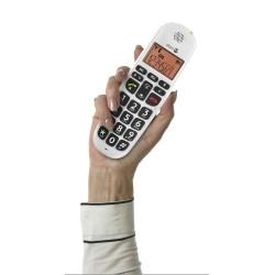 Téléphone Sans fil Duo DORO Phone Easy 100w Blanc grand afficheur