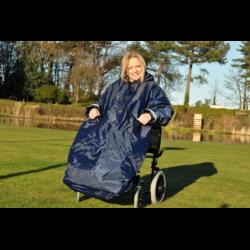 Imper sans manches pour Fauteuil Roulant-Splash Wheely Mac