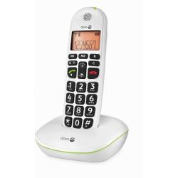 Téléphone Sans fil  DORO Phone Easy 100w Blanc Grand Afficheur 30db Doro - 1