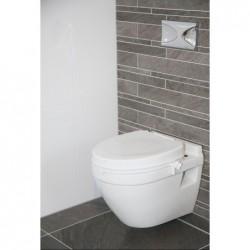 Réhausseur WC avec couvercle