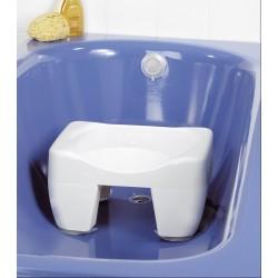 Tabouret et Réducteur de baignoire 40,5x31x21cm HWTABO01