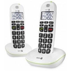 Téléphone sans fil Duo  DORO Phone Easy 110 Blanc