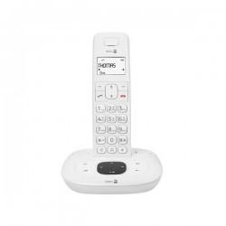 Téléphone Sans fil  DORO Comfort 1015  Blanc, répondeur intégré