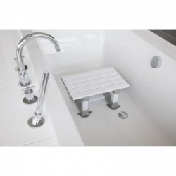 Siège de bain Slatted Hauteur 15cm