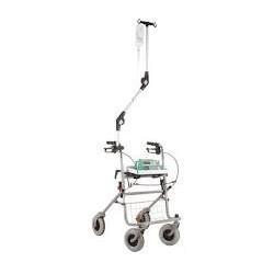Porte sérum pour rollator ou fauteuil roulant - MPB002