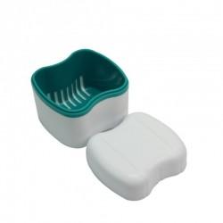 Boite à dentier avec panier amovible