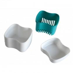 Boite à dentier avec panier amovible Hestec - 3