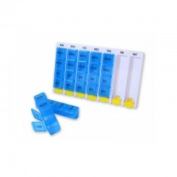 Pilulier 7 jours - 4 compartiments/jour AIC - 1