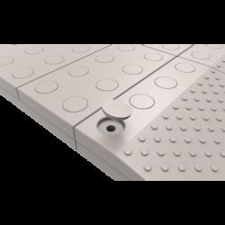 Secucare Bouchons gris pour rampe de seuil (14 pièces)