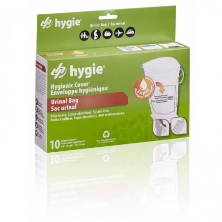 Enveloppes hygiéniques® (sacs urinaires) pour support urinal, 10 pièces