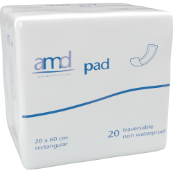 Couches droites - AMD Pad Traversable - 20x60