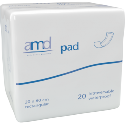 Couches droites - AMD Pad Intraversable - 20x60