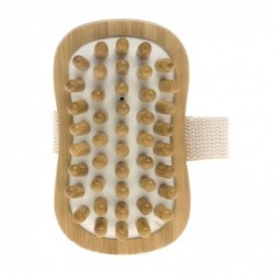 Brosse de massage en bambou