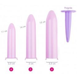 Dilatateurs vaginaux Velvi Maxi