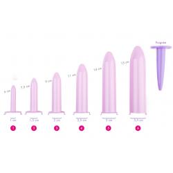 Dilatateurs vaginaux Velvi - kit complet