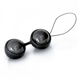 Mini Boules de Geisha Noir - Lelo LUNA Beads