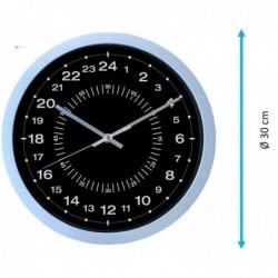 Horloge 24H, diam 30cm, lecture facile