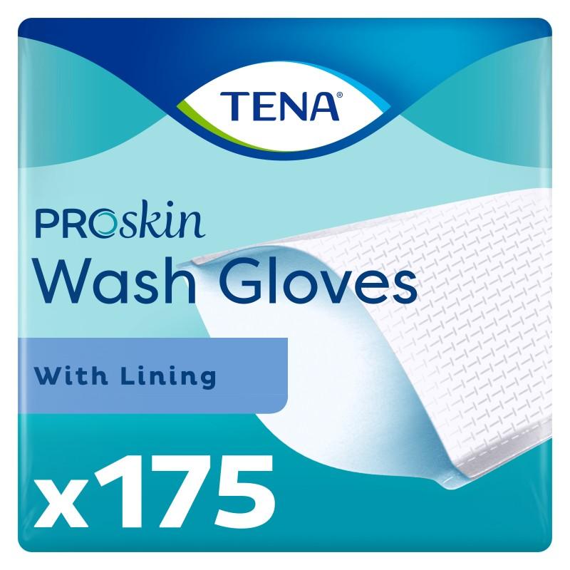 TENA Wash Gloves - Gants plastifiés Tena - 1