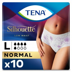 Protection urinaire femme - TENA Silhouette Normal - Large Tena Silhouette - 1