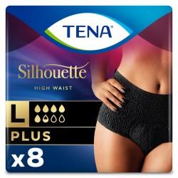 Protection urinaire femme - Tena Silhouette Plus Noir - L (taille haute) Tena Silhouette - 1