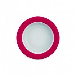 Assiette/Bol Mélamine Ergonomique, Rouge Ornamin - 1