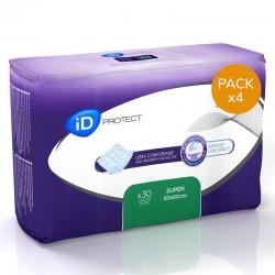 Alèses - Ontex-ID Expert Protect Super - 60x60 - Pack de 4 sachets Ontex ID Expert Protect - 1