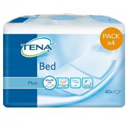 TENA Bed Plus - 40x60 - Pack de 4 sachets Tena Bed - 1