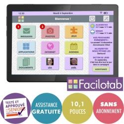 Tablette Facilotab L Rubis - WiFi - 32Go - LENOVO - ANDROID 9 -10,1 pouces Facilotab - 1