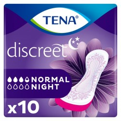 Protection urinaire femme - TENA Discreet Normal Night Tena Lady - 1