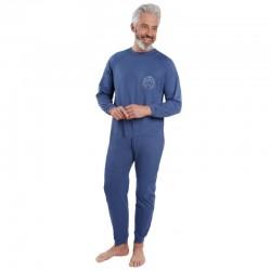 Pyjama grenouillère LONGUE / broderie - Benefactor