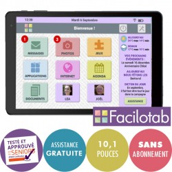 Tablette Facilotab L 10,1 pouces WiFi - 16GO - Alcatel Facilotab - 1