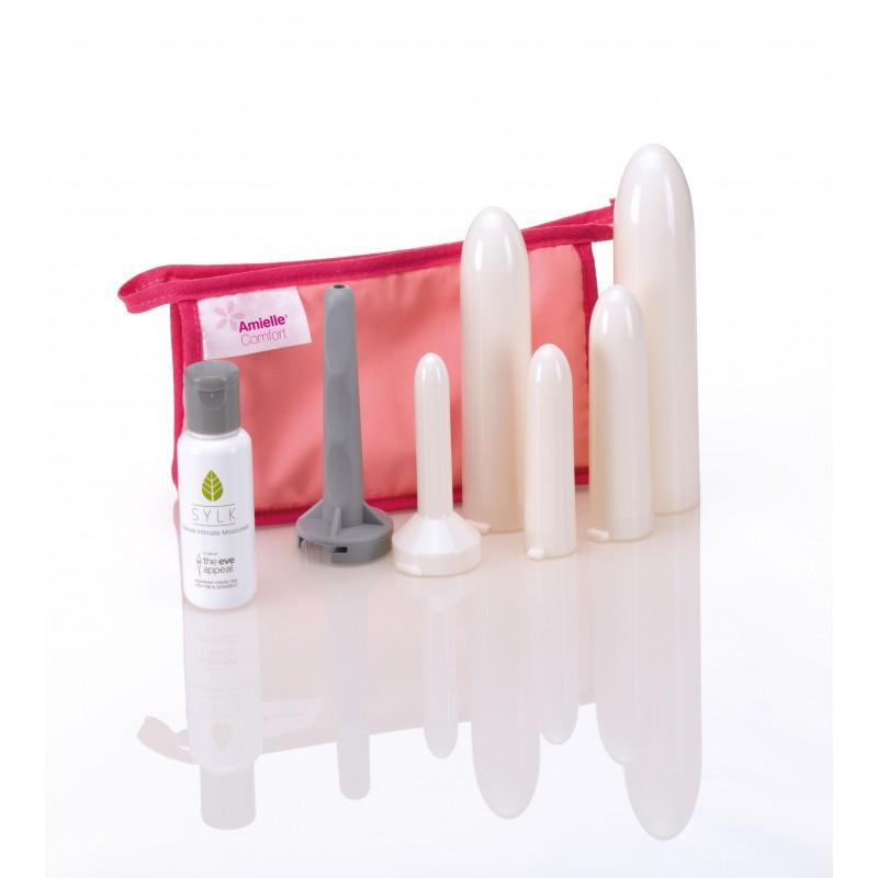 Dilatateurs vaginaux Amielle Comfort - kit complet  - 1