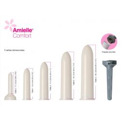 Dilatateurs vaginaux Amielle Comfort - kit complet Amielle Comfort - 3