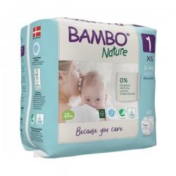 Couches bébé - Abena Bambo Nature  - 1