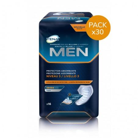 Protection urinaire homme - TENA Men Niveau 3 - Pack Economique