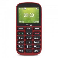 Téléphone Mobile plat DORO 1360 - rouge